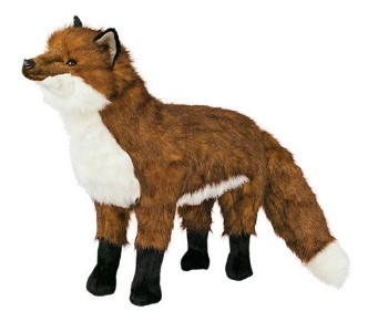 Red Fox Foot Rest