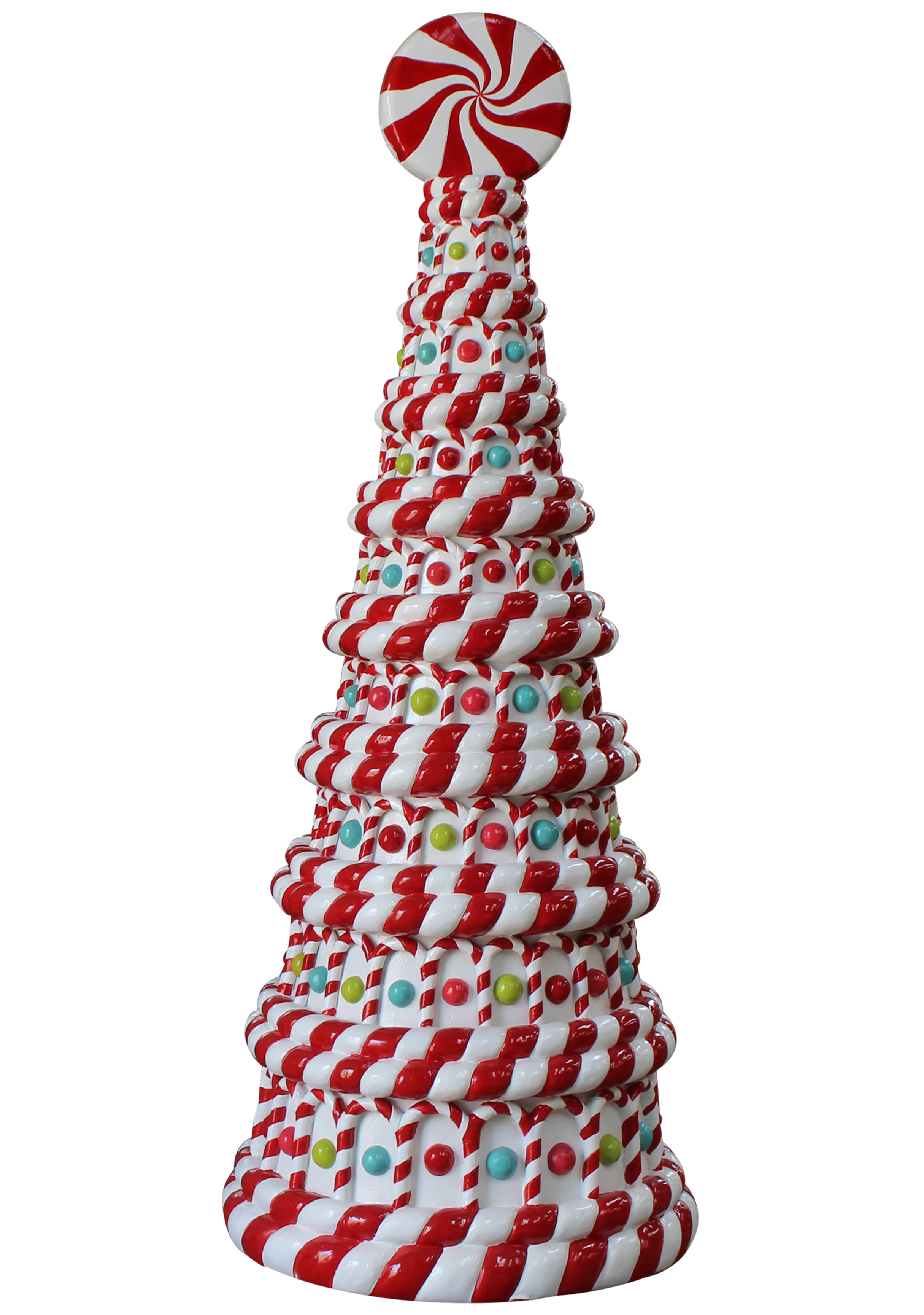 Peppermint Candy Tree 8'