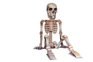 13.5' Sitting Skeleton